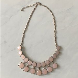 Jewelry - Pale Pink Statement Necklace